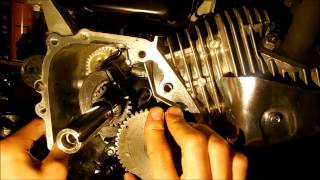honda 6 5 hp clone how to install camshaft timing