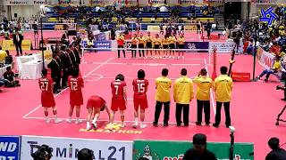 [Full] ไทย พบ เวียดนาม รอบชิงชนะเลิศ ทีมเดี่ยวหญิง ตะกร้อคิงส์คัพ | King's Cup 34th THA vs VIE