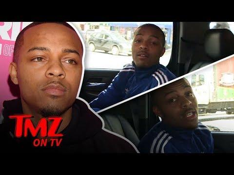 Bow Wow Invites Harvey To The Strip Club! | TMZ TV