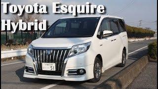 Авто из Японии - Toyota Esquire Hybrid 2015. Обзор и тест драйв