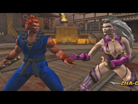 Mortal Kombat Armageddon AKUMA (FLAWLESS VICTORY) - VERY HARD (PS2)【TAS】 thumbnail