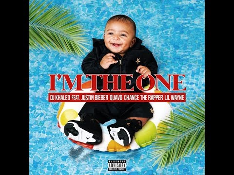 Im The One (Clean)- Dj Khaled Ft. Justin Bieber, Quavo, Chance The Rapper, Lil Wayne LYRICS