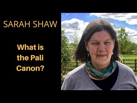 What is the Pali Canon?