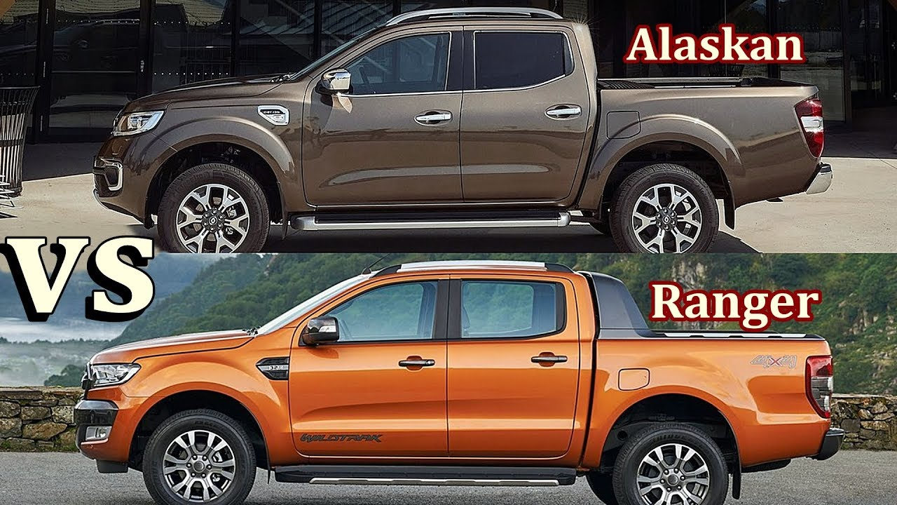 2017 Renault Alaskan vs 2017 Ford Ranger - YouTube