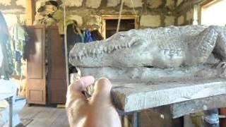скульптура крокодила(изготовление ландшафтной скульптуры на заказ., 2013-06-01T13:51:06.000Z)