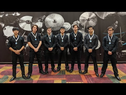 L.D. Bell High School Percussion Ensemble 2019 PASIC Performance