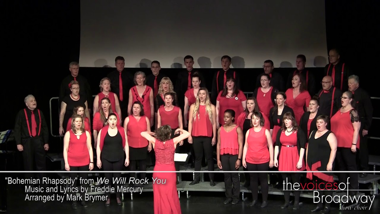 Bohemian Rhapsody Performed by The Voices of Broadway Show Choir