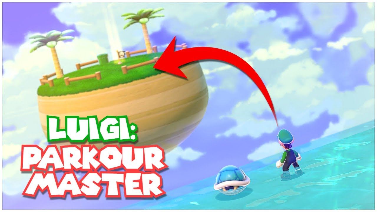 Cool Parkour with Luigi - Super Mario 3D World + Bowser's Fury