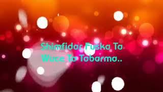 Masoyi Yana Da Rana Lyrics Song 2017 - Hamisu breaker dorayi
