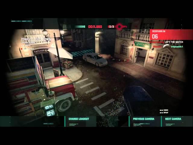 Splinter Cell Spies vs Mercs Blacklist Mode Full Match 4