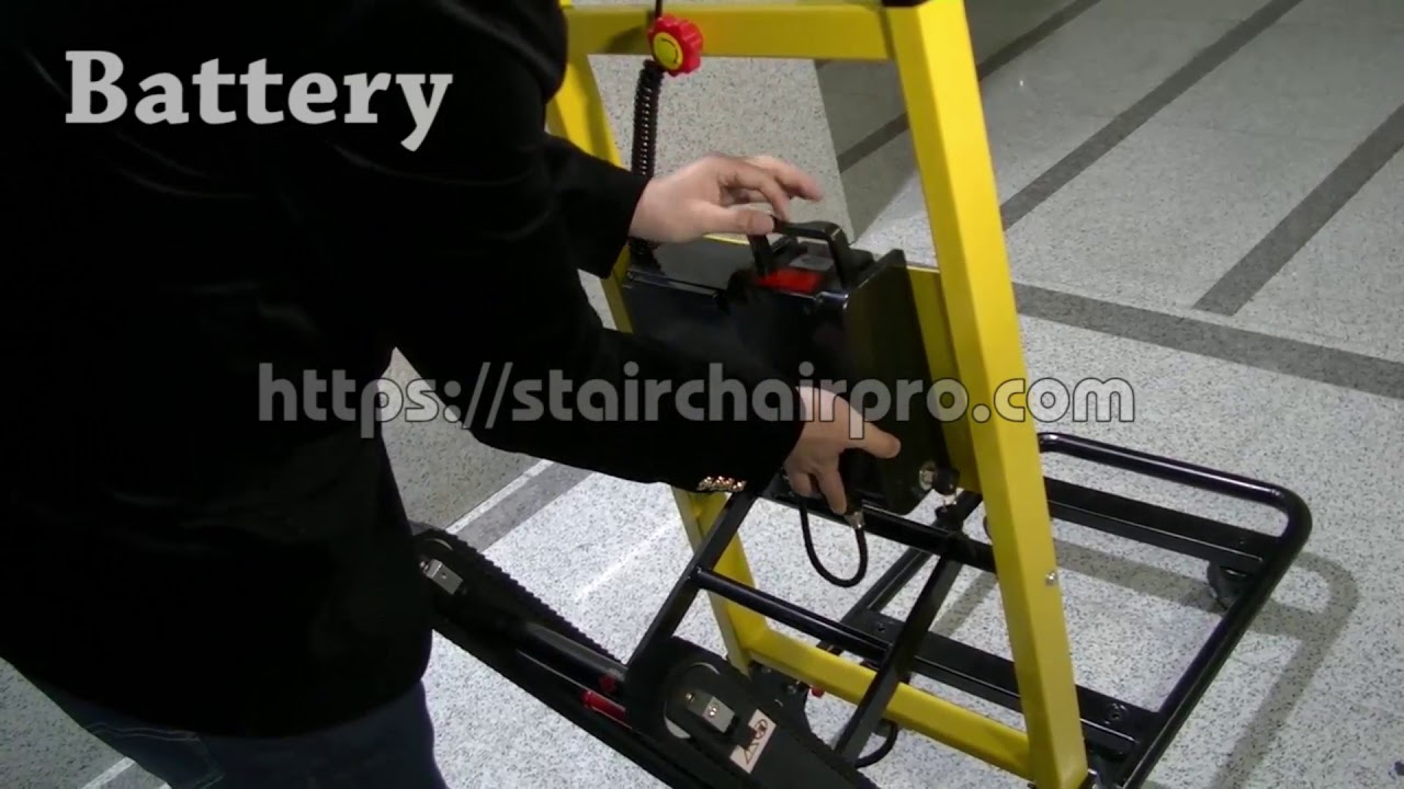 Motorized Electric Stair Climbing Hand Truck Trolley To Easily