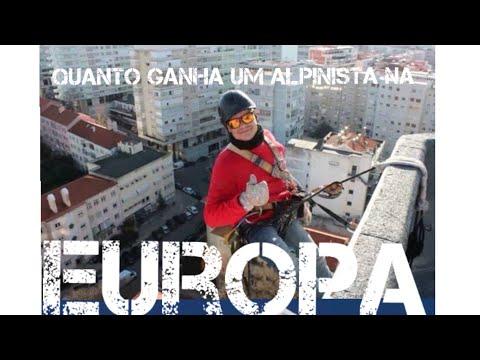 Quanto ganha um alpinista na Europa
