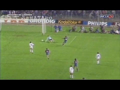 Barça legendary players: Lineker