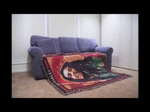 Stop Motion - Bob Marley blanket - self making couch