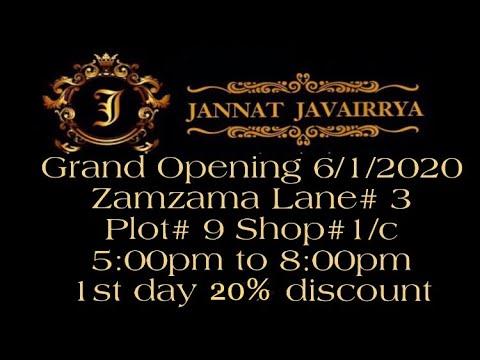 Jannat Javairrya a brand founded by Javeria Saud