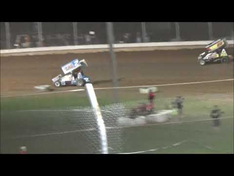 AJ Flick - 410 Sprint - Sharon Speedway - Win #18!