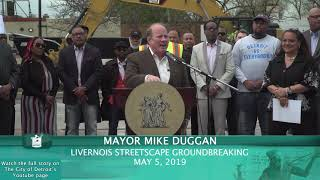 Recap: City Breaks Ground on Plans to upgrade Livernois' Avenue of Fashion