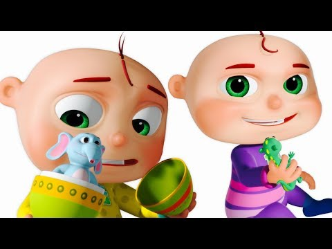 Five Little Babies Opening The Eggs - Learn Wild Animals (SINGLE)  Videogyan 3D Rhymes   Zool Babies