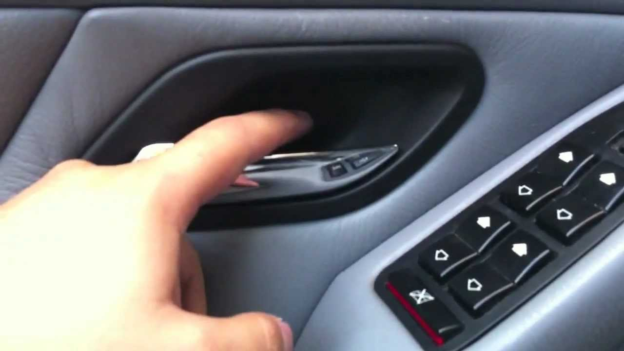 E39: How to replace the inner door handle on your BMW - YouTube