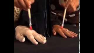 видео Манекен руки (деревянный)