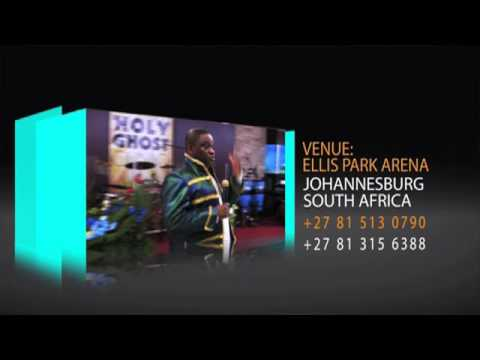 2 September, Indoor Crusade, Johannesburg (Standard Bank Arena)