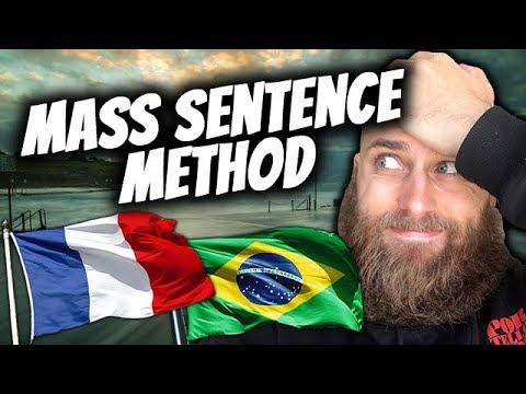 Mass Sentence Method | French & Portuguese Language Challenge