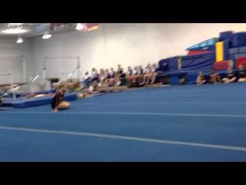 Mackenzie's floor routine to