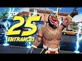 WWE ALL STARS - TOP 25 SUPERSTAR ENTRANCES!
