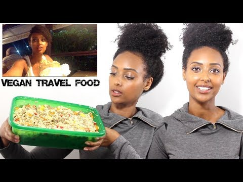 Traveling Vegan   Vegan Travel Snack Ideas   What I Ate Travelling To Barbados