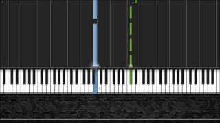 Spanish Romance - Easy Piano Tutorial by Pluta-X (50%) Synthesia