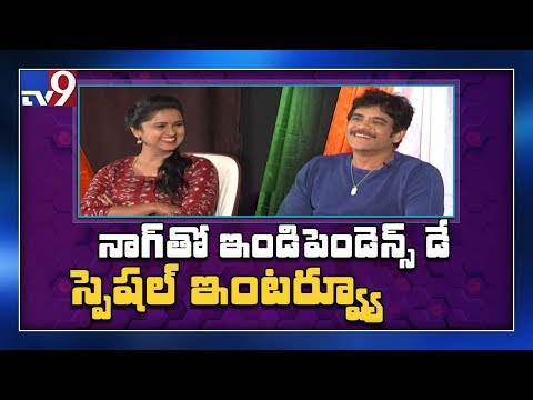 Independence Day Celebrations with Nagarjuna - TV9