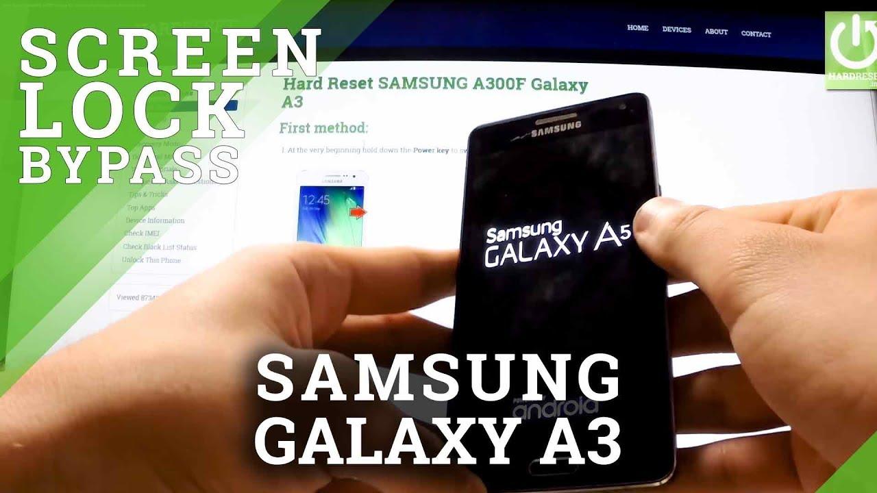 Hard Reset SAMSUNG Galaxy A8 - HardReset info