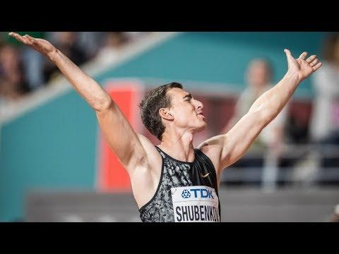Шубенков ворвался в историю легкой атлетики с урожаем медалей
