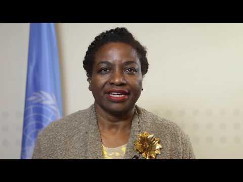 Dr Natalia Kanem introduit le plan stratégique de l'UNFPA 2018-2021.
