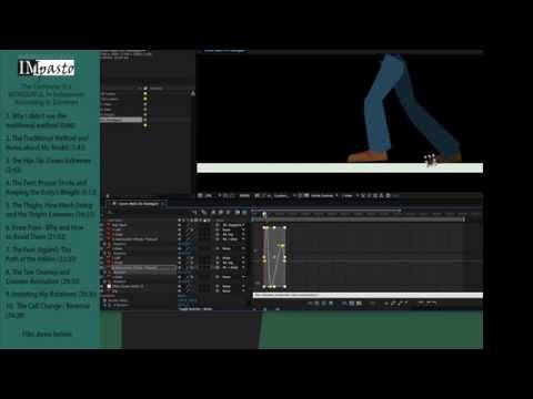 Animating a Walk - Non-traditional Style - Part 1