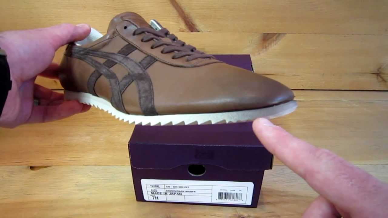 online store ecde9 73447 Onitsuka Tiger Tai Chi Deluxe Nippon Made Brown