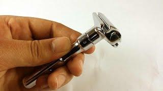 Бритье. Обзор Т образного бритвенного станка Merkur Futur. Merkur Futur safety razor review.