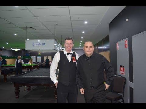 Mick Batelic Vs Peter Gilchrist 2018 Marconi Sydney Billiards Championship