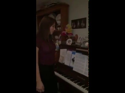 Me singing the top note of the piano (5 octave range [C3-C8] )