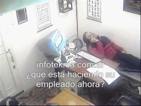Una camara oculta youtube for Camara oculta en la oficina