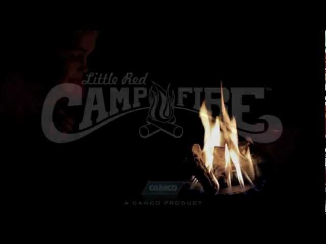 Father And Son Talking About The Little Red Campfire Camco 58031 Youtube