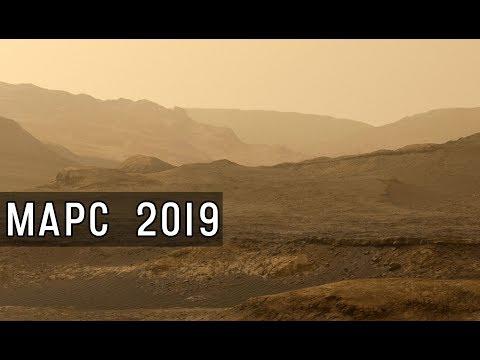 Марс 2019 Кьюриосити. Новые исследования геологии и атмосферы Марса. Панорамы и селфи 2019.