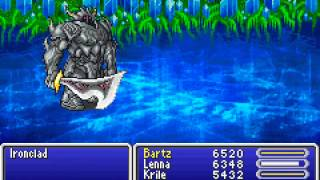 Game Boy Advance Longplay [106] Final Fantasy V Advance (part 7 of 7)