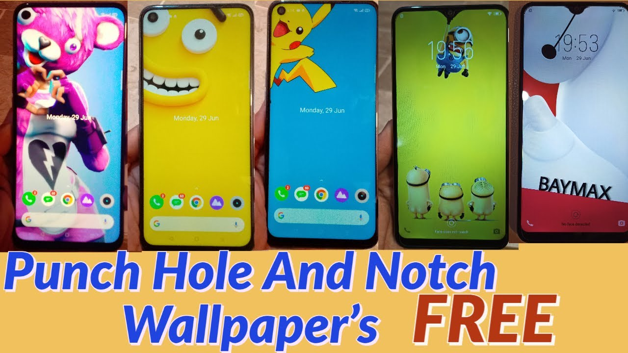 Punch Hole And Notch Wallpaper 200 Free Amazing Wallpaper S Best Of 2020 Youtube