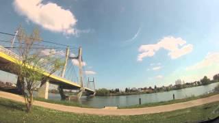 Pont De Bourgogne Time Lapse @ Chalon Sur Saone