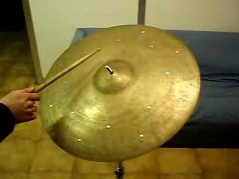 k zildjian istanbul 21 ride cymbal jazz old vintage 22 youtube. Black Bedroom Furniture Sets. Home Design Ideas