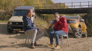 ANWB Dubbeltest Dacia Duster 4x4 vs. Suzuki Jimny 2019 (SUV VS. LADDERCHASSIS)