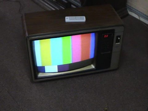 1982 Rca Colortrak Tv