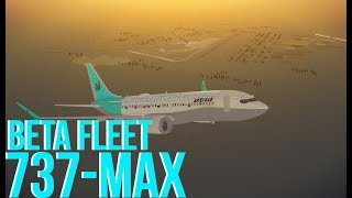 ROBLOX Beta Fleet Boeing 737 MAX Flight