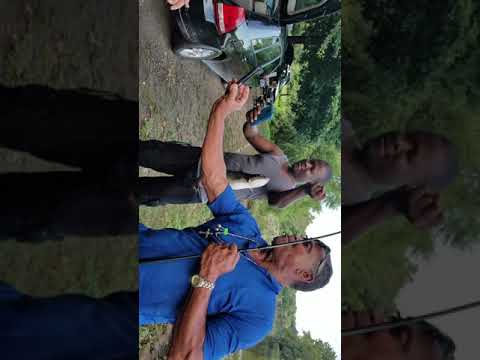 Random Dudes Fishing Passaic River Paterson Nj Westside Park  Catfish